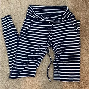 Aerie striped joggers